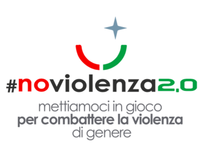 Il marchio logo #noviolenza2.0