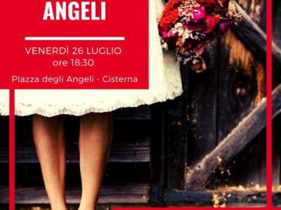 """""""La Sposa – un tributo a Pippa Bacca"""" – inaugurazione la Scalinata degli Angeli Cisterna di Latina venerdì 26 luglio"""