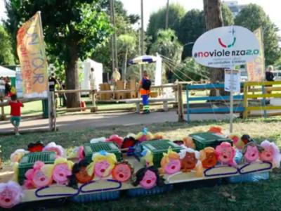 L'imbarcazione riciclata di #noviolenza2.0