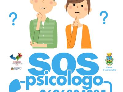Cisterna di Latina Emergenza Coronavirus – Nasce #SOSPsicologo: sportello di supporto e di sostegno telefonico gratuito a cui rivolgersi: 0696834285 – 0696834315