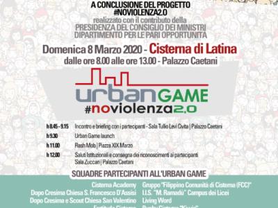 NoViolenza2.0:a Cisterna di Latina la violenza di genere  si combatte con una caccia al tesoro hi-tech