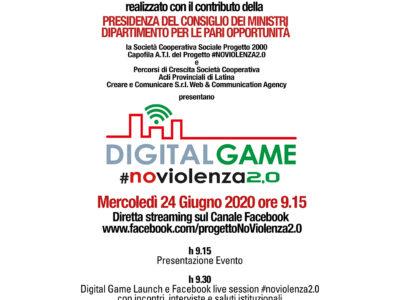 Conclusione progetto #nioviolenza2.0